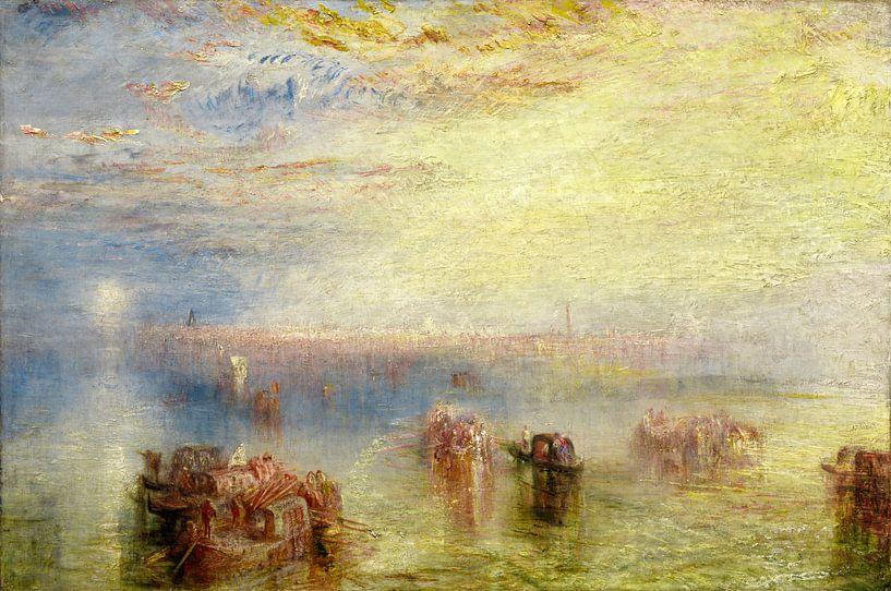 Venetië naderend, Joseph Mallord William Turner van Liszt Collection