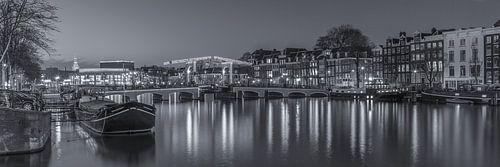 Amsterdam by Night- Magere Brug en de Amstel - 3