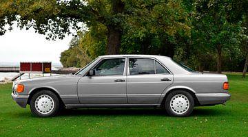 Mercedes-Benz S-Klasse W 126 in originele kleuren van aRi F. Huber
