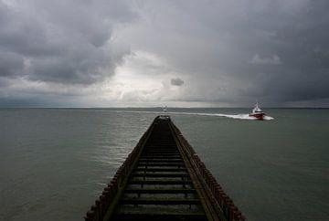 Chasse d'eau des ferries sur Cathfish photography by Cathie Lefieuw