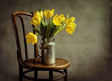 Gele Tulpen - Stilleven Met Bloemen