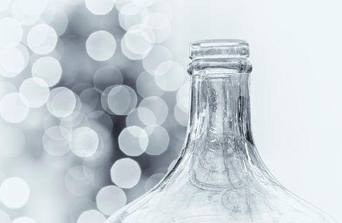 Wijnfles met bubbels van Ellen Driesse