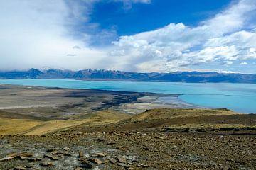 Panorama Lago Argentino, Patagonië, Argentinië von Geert Smet