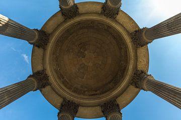 De Sybille Tempel in Parc des Buttes Chaumont in Parijs van MS Fotografie | Marc van der Stelt