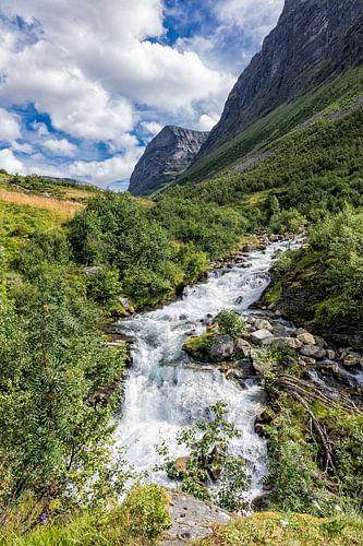 Storseterfossen in Norway