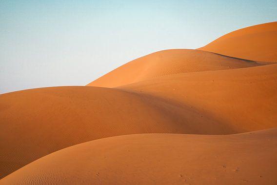 Woestijn: Golven van zand