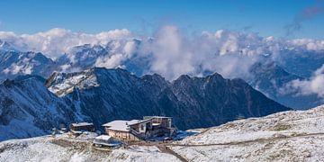 Bergbahnstation am Nebelhorn, Allgäuer Alpen von Walter G. Allgöwer