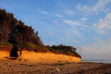 Steilküste im Winter von Ostsee Bilder
