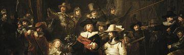 Die Nachtwache (Ausschnitt), Rembrandt van Rijn