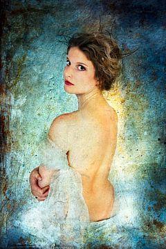 Junge Frau 3 von Henny Verbeek