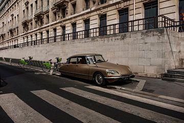 Citroën DS in Parijs van