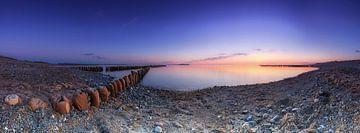 Panorama am Meeresstrand von Frank Herrmann