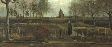 Le jardin du presbytère à Nuenen, Vincent van Gogh