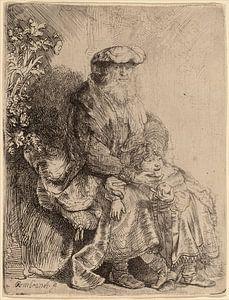 Rembrandt van Rijn  Abraham en Isaac van