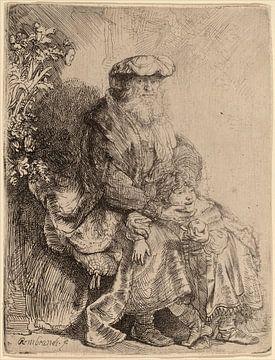 Rembrandt van Rijn  Abraham, Isaac
