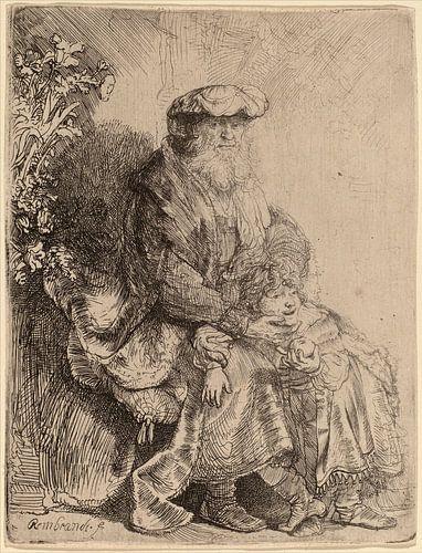 Rembrandt van Rijn  Abraham, Isaac von Rembrandt van Rijn