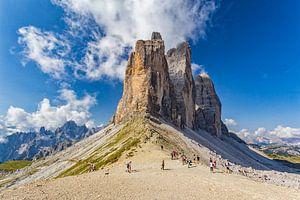 De Drei Zinnen in de Dolomieten (Italië) - 1
