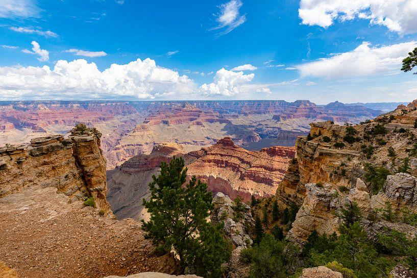 Grand Canyon - vergezicht van Remco Bosshard