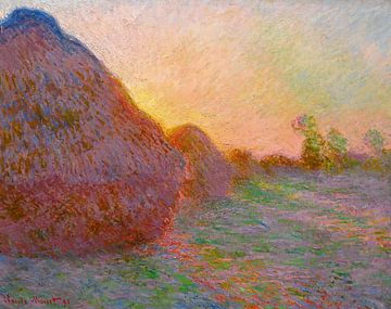 Heuhaufen, Claude Monet - 1891