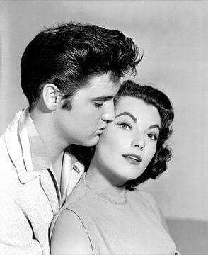 Elvis Presley en Judy Tyler van Bridgeman Images
