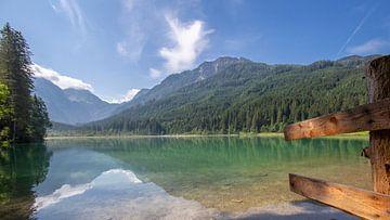 Lac de chasse, Autriche sur Wim Brauns