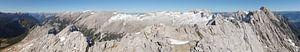 Karwendel Mountainpanorama von Christian Moosmüller