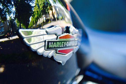 Amerikaans motor icoon Harley Davidson van