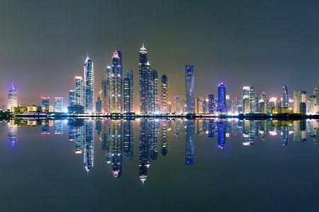 Dubai marina night von Vincent Xeridat
