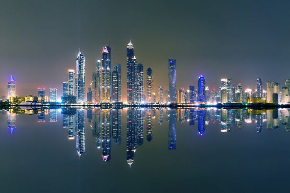 Dubai marina night