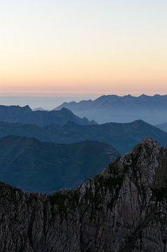 Zonsondergang Spaanse Pyreneeën von