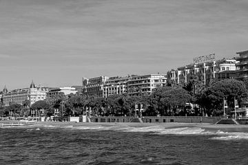 Die Croisette in Cannes von Tom Vandenhende