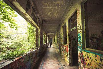Urban exploring verlaten gebouwen België urbex van Peter Haastrecht, van