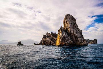 Die felsigen Berge von Illes Medes, Spanien von Wilco de Haan