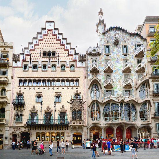 Barcelona   Casa Batllo by Antoni Gaudi