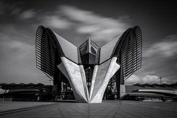 Spaceship de Lyon-Saint-Exupéry  van Sander van der Werf