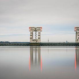 Repos serein au barrage de Driel sur Patrick Verhoef