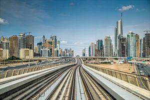 DubaiMetro van