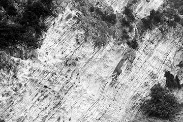 Felsenwand auf Kefalonia, Griechenland von Jason King