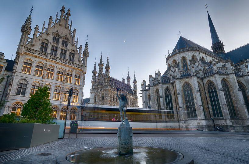 Stadscentrum Leuven van Mark Bolijn