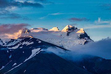 Berggipfel im Vatnajökull von Easycopters