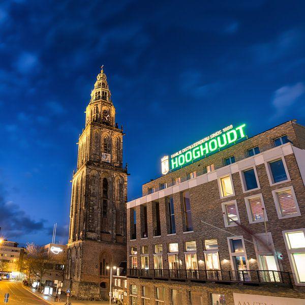 Martinitoren en Vindicat Atque Polit van Iconisch Groningen