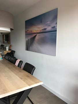 Photo de nos clients: Postes en mer du Nord sur Niels Barto