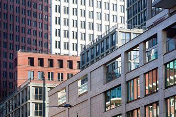 Gebouwen in het centrum van Den Haag van Peter de Kievith Fotografie