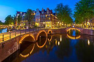 Keizersgracht, Amsterdam van Sander Meertins