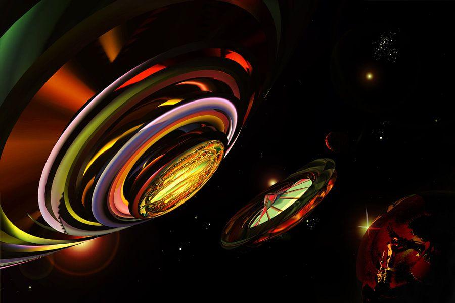 Major Tom interstellar memorial station von Holger Debek