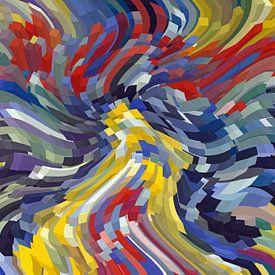 Kleurrijke kubussen van Marion Tenbergen