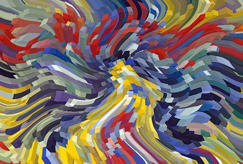 Kleurrijke kubussen van
