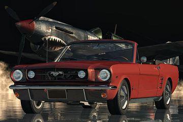 Ford Mustang der legendäre Sportwagen von 1964 von Jan Keteleer