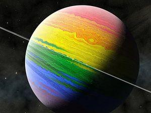 Planet LGBT von Frans Blok