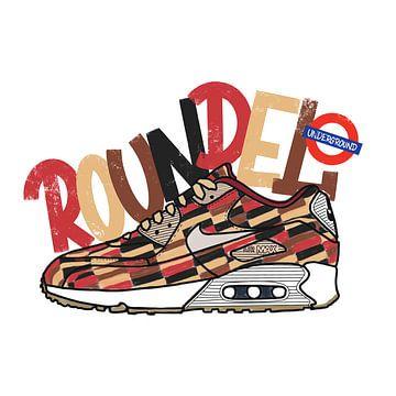 """Nike Air Max 90 """"Roundel"""" von Pim Haring"""